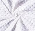 Minky Pois Blanc