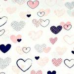 Coeurs Rose-Marine